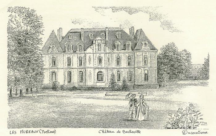 Journées du patrimoine 2020 - 1953 - Ecole au château de Bècheville