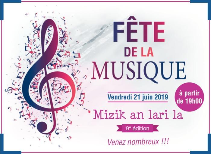 Fête de la musique 2019 - Mizik an lari la