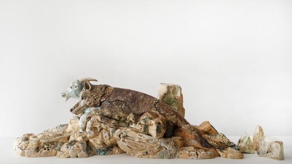 Nuit des musées 2019 -Performance de Valérie Delarue : Le festin du loup