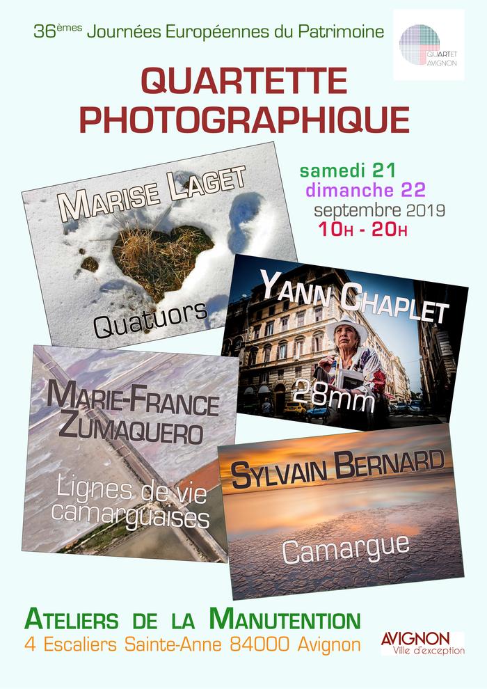 Journées du patrimoine 2019 - Quartet photographique