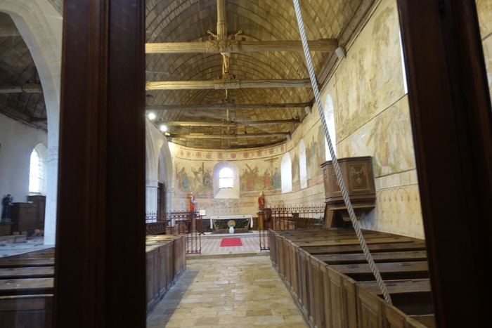 Journées du patrimoine 2020 - Visite commentée de l'église et ses peintures