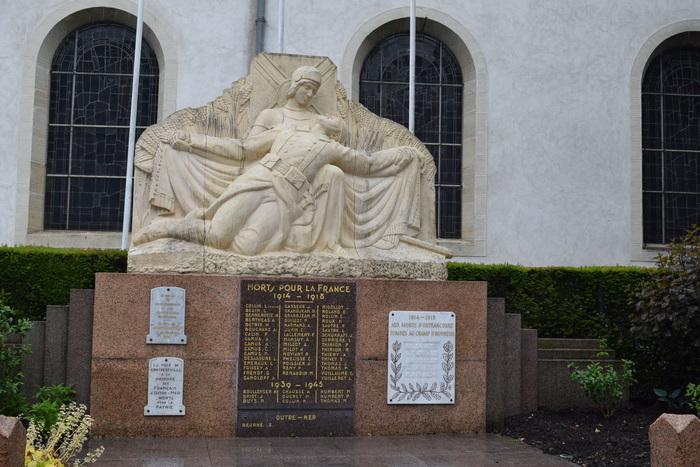 Journées du patrimoine 2019 - Visite guidée de l'Eglise Saint-Epvre et du monument aux morts