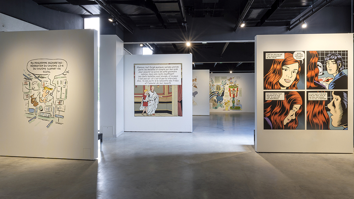 Journées du patrimoine 2020 - Exposition « Jean-François Rey, Typographie et bandes dessinées »