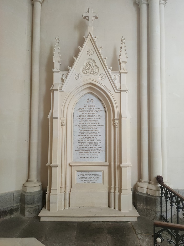 Journées du patrimoine 2020 - Ouverture de la chapelle Saint-Denis