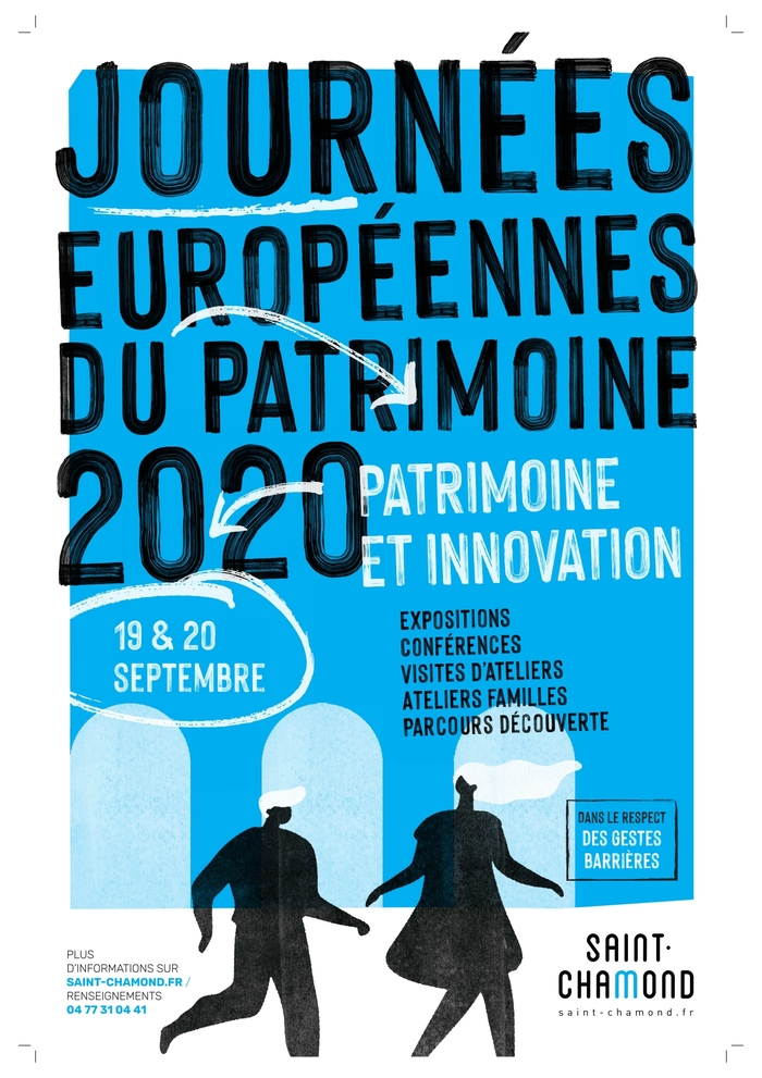 Journées du patrimoine 2020 - Jeux patrimoniaux et jeu-concours « Crée ta carte postale de Saint-Chamond »