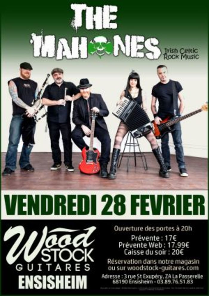 The Mahones (celtic rock) & FFR (celtic fiesta)