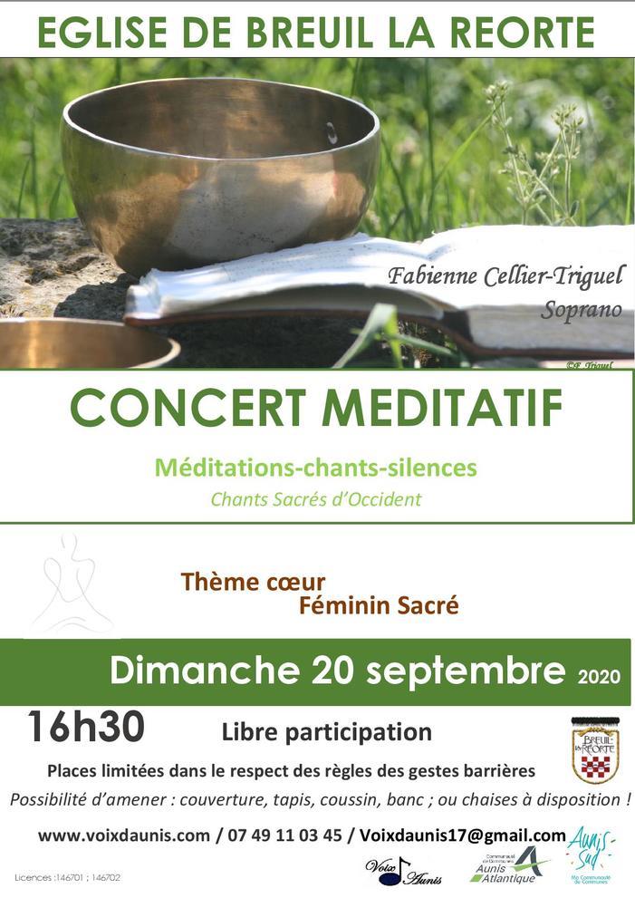 Journées du patrimoine 2020 - Concert méditatif-féminin sacré