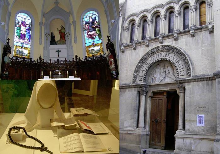Journées du patrimoine 2020 - Visite de la Chapelle de la Visitation - Exposition : Les visitandines en leur demeure
