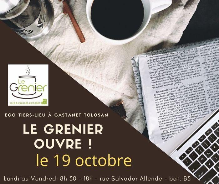 Le Grenier , éco-Tiers-Lieu de Castanet ouvre ses portes le 19 octobre