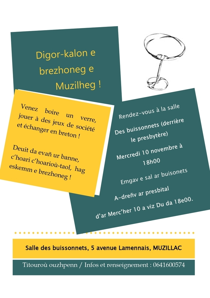 Apéritif en breton à Muzillac