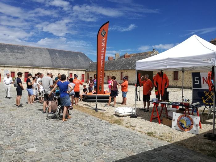 Journées du patrimoine 2020 - Présence des Bénévoles de la SNSM / Rencontre et Démonstration.