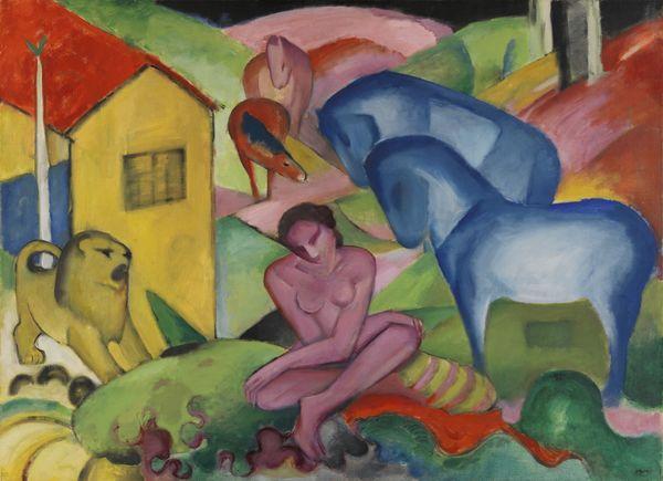 Nuit des musées 2019 -Franz Marc / August Macke. L'aventure du Cavalier bleu