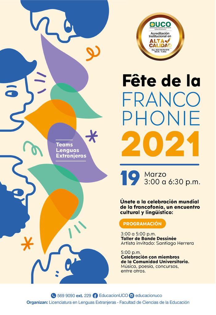 Atelier de création de BD pour débutants et Célébration de la francophonie