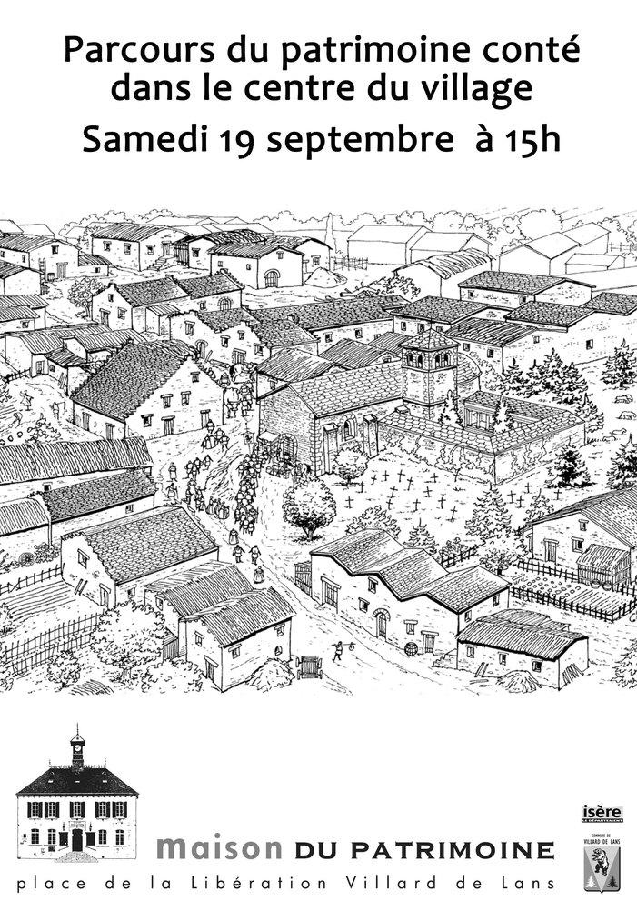 Journées du patrimoine 2020 - Parcours patrimoine conté