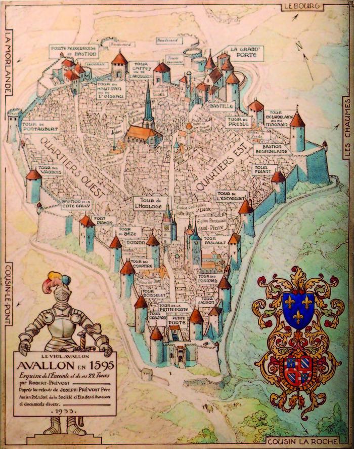 Journées du patrimoine 2020 - Visites découvertes de la ville d'Avallon