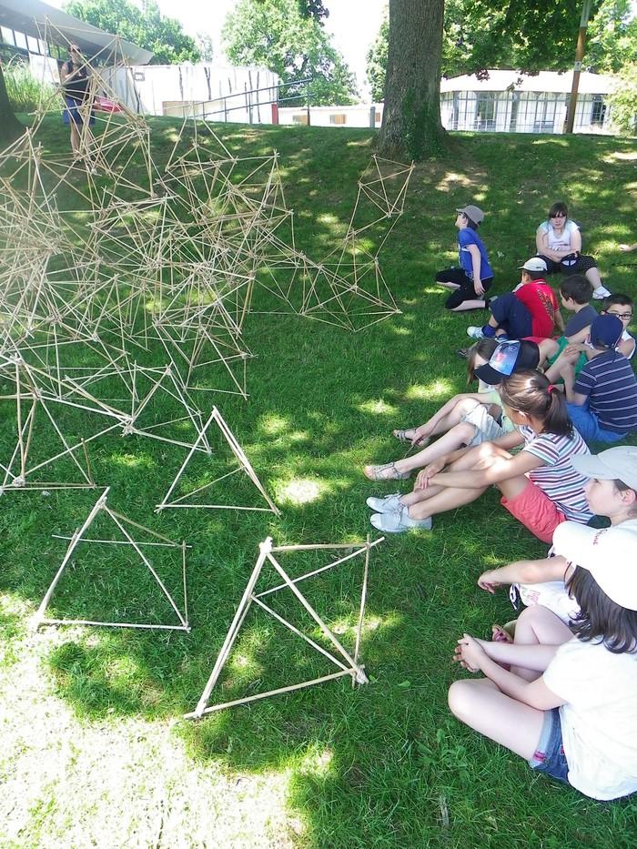 Journées du patrimoine 2020 - Atelier Land art à l'île MoulinSart