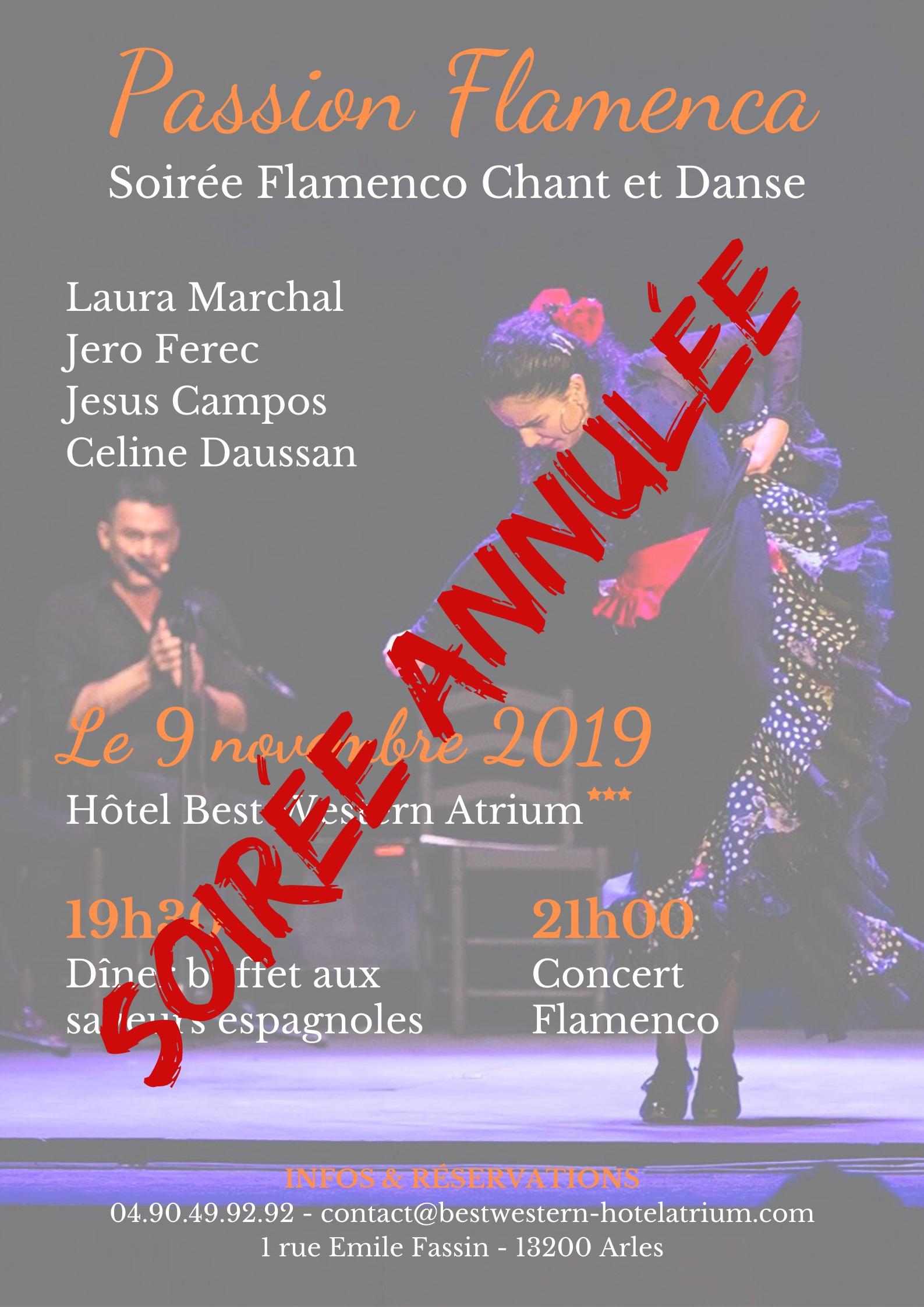 Soirée Flamenco Chant & Danse