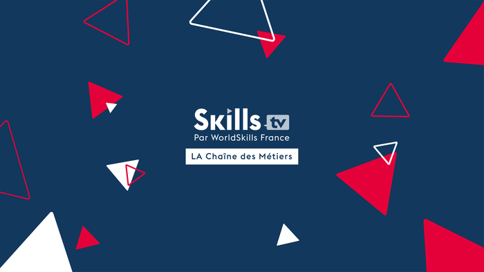 La France, pays hôte de la compétition mondiale des métiers WorldSkills à Lyon, 2024. Lancement de l'émission internationale de la chaine Skills TV, la chaine des métiers de WorldSkills France