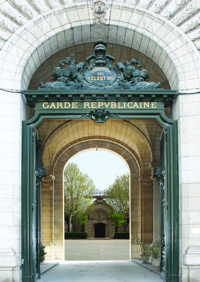 Journées du patrimoine 2019 - Visite de la Garde républicaine