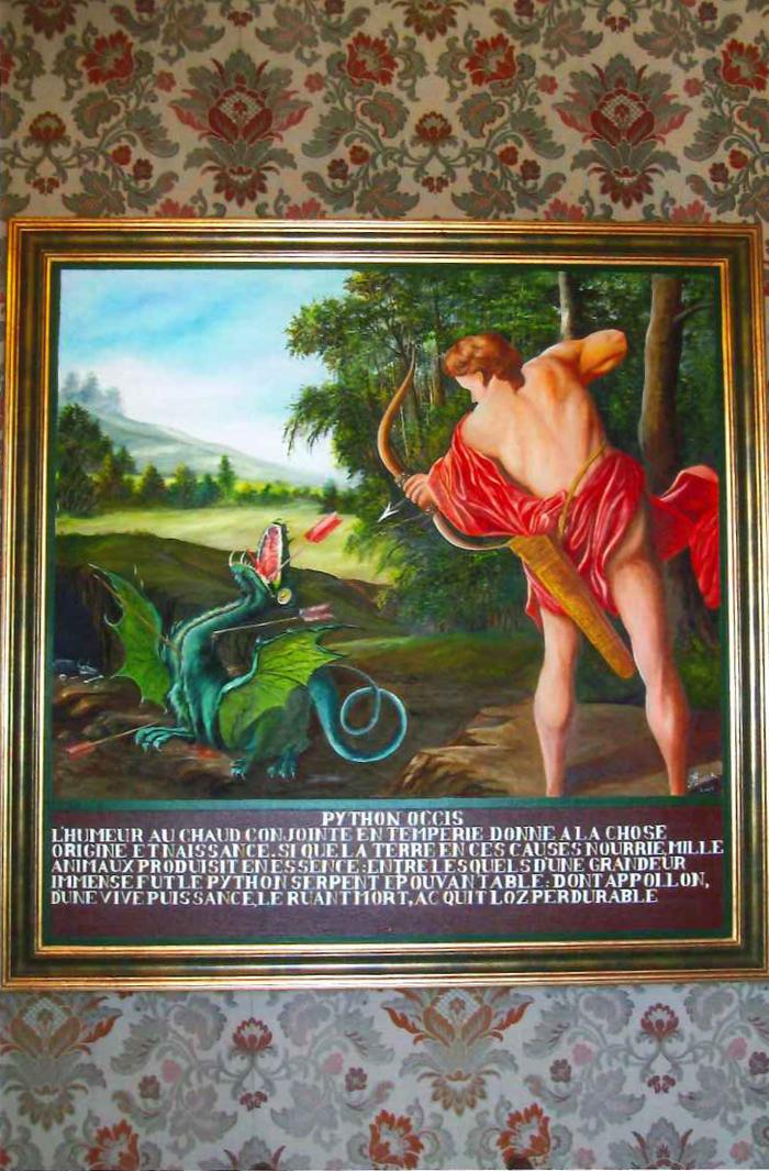 Journées du patrimoine 2019 - Le Trait d'Union : Exposition de peintures « Les métamorphoses d'Ovide » de M.Thomas, Château de Montbras