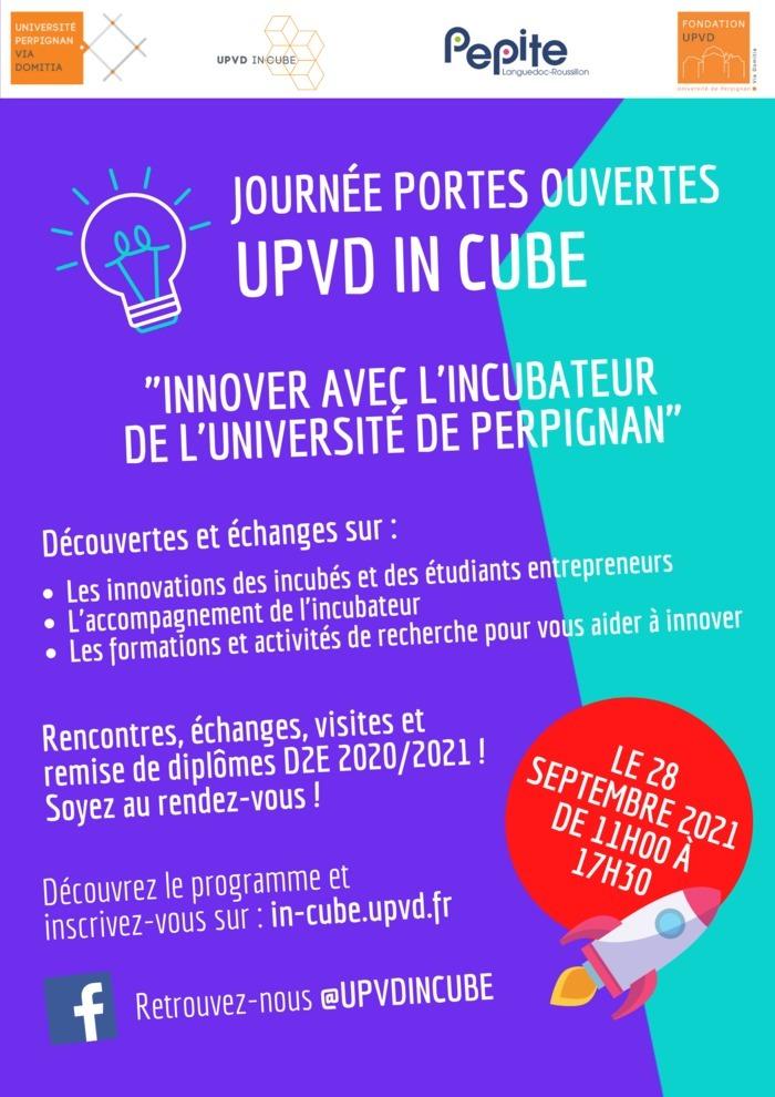 JPO UPVD INCUBE et PEPITE-LR à Perpignan