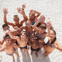 Plage, soleil, projets d'enfants, fun : vive les vacances !