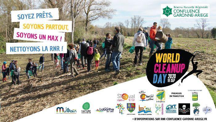 World Cleanup Day : nettoyons la Réserve Naturelle Régionale !