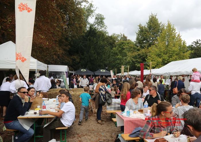 Journées du patrimoine 2019 - Gourmandises au château des Mesnuls - Marché et ateliers