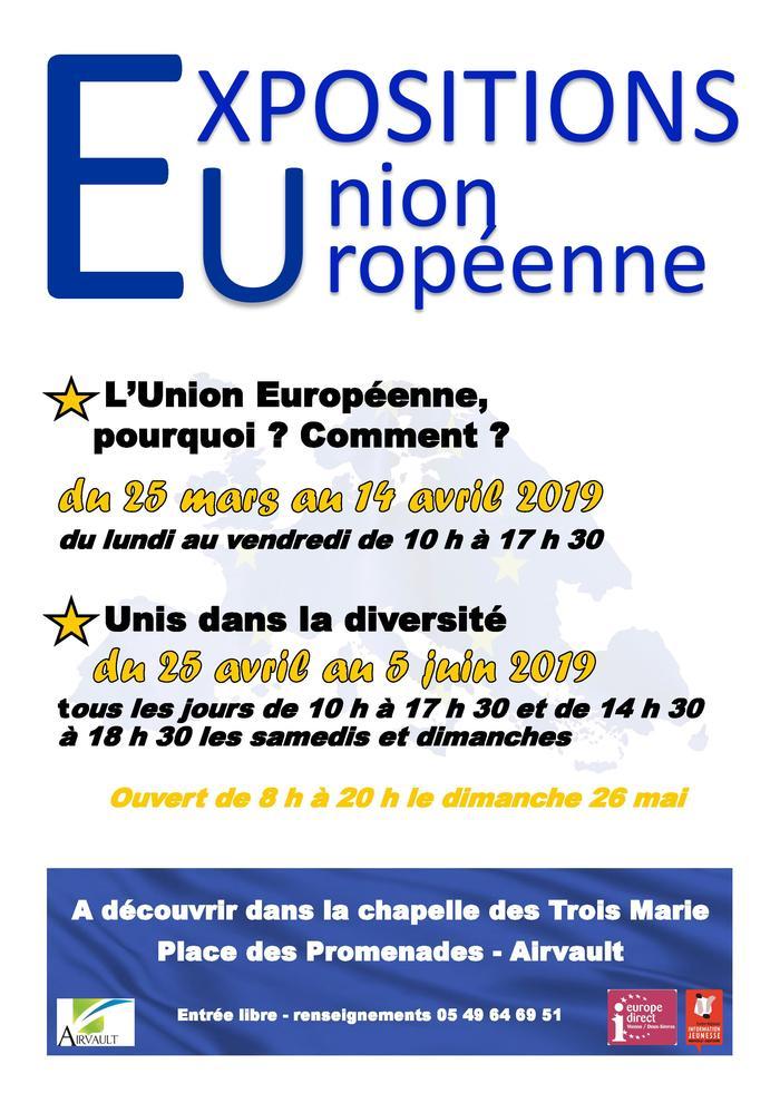 Expositions sur l'Union européenne