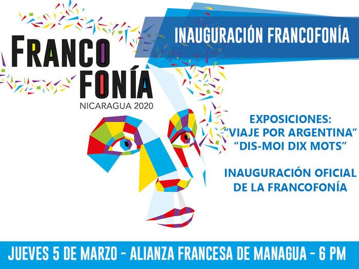 Inauguration du mois de la Francophonie au Nicaragua