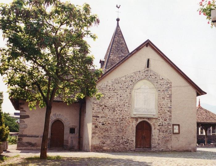 Journées du patrimoine 2020 - Visite libre - Chapelle et Place de Concise