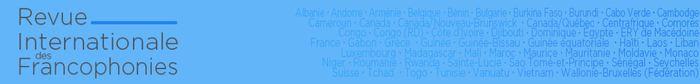 Un numéro présentant 9 articles ainsi que 5 entretiens de personnalités issues de la Francophonie institutionnelle.