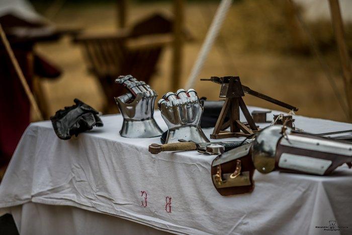 Journées du patrimoine 2020 - Reconstitution d'un campement médiéval