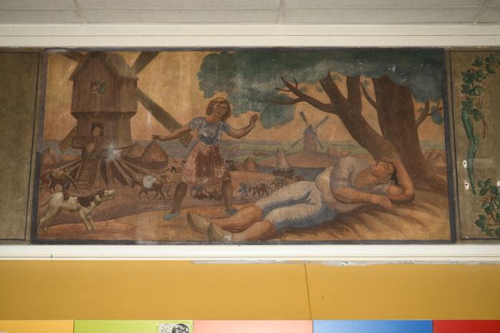 Journées du patrimoine 2020 - Visite commentée des fresques de l'école maternelle de la rue de Romainville