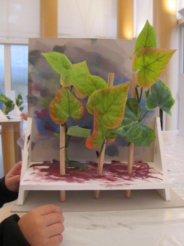 Profitez d'une visite du Musée suivie d'un atelier pour créer votre propre forêt !