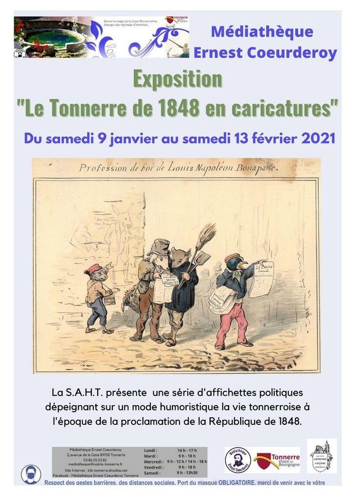 Le Tonnerre de 1848 en caricatures