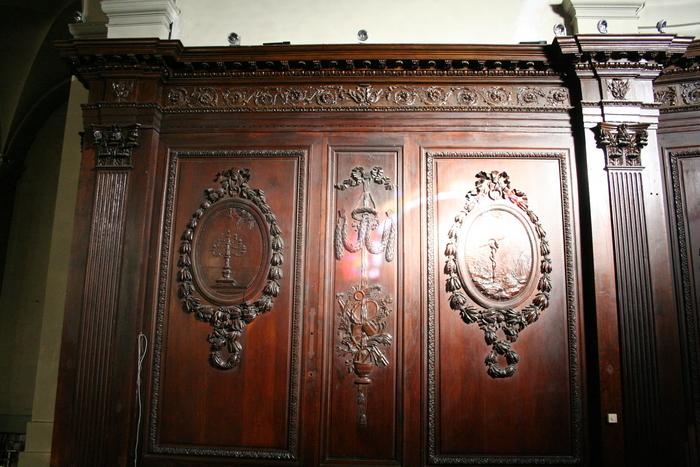 Journées du patrimoine 2020 - boiseries XVIIIème de l'ancienne abbaye de Cluny