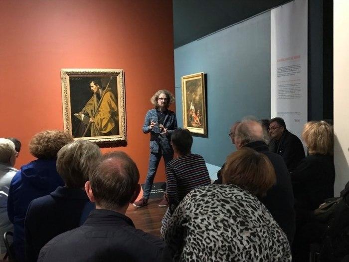"""Suivez les traces du """"Saint Thomas"""" de Velàzquez grâce aux éclairages de Corentin Dury, commissaire de l'exposition et conservateur du musée des Beaux-Arts d'Orléans et des médiateurs du musée !"""