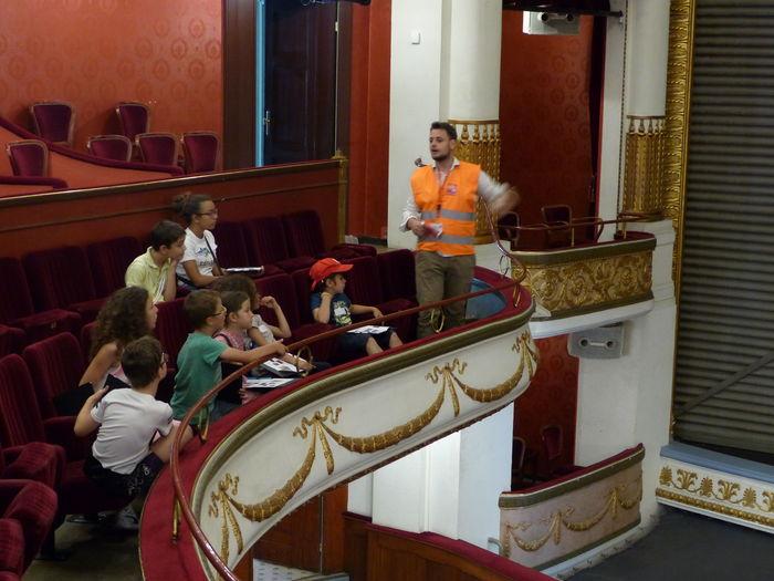 Journées du patrimoine 2020 - Le théâtre dévoilé aux enfants