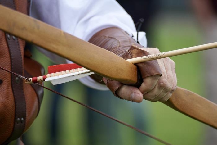 Journées du patrimoine 2019 - Initiation de tir à l'arc par la Compagnie d'Arc de Pierrefonds