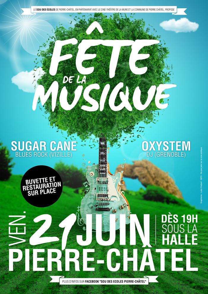 Fête de la musique 2019 - Sugar Cane / Oxystem