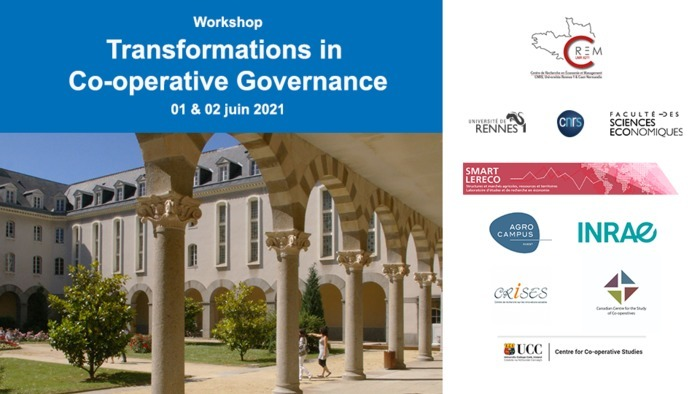 Workshop Transformations in Co-operative Governance co-organized by the CREM and SMART-LERECO.