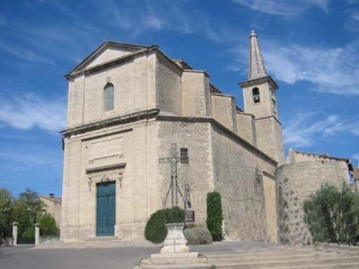 Journées du patrimoine 2020 - L'église Saint-Symphorien à Caumont-sur-Durance