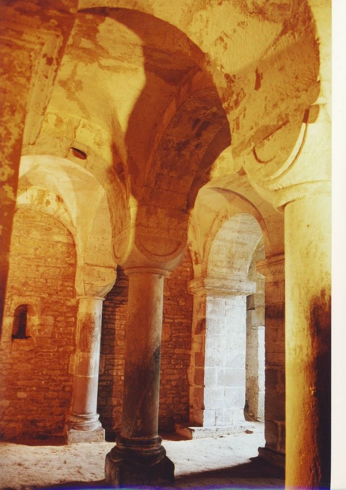 Journées du patrimoine 2020 - Visite guidée de la Crypte romane de l'église Saint-André d'Esley