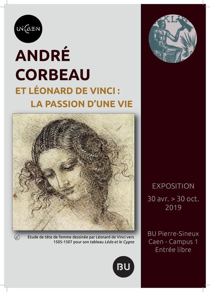 Journées du patrimoine 2019 - Visite guidée de la BU et de l'exposition André Corbeau et Léonard de Vinci : la passion d'une vie
