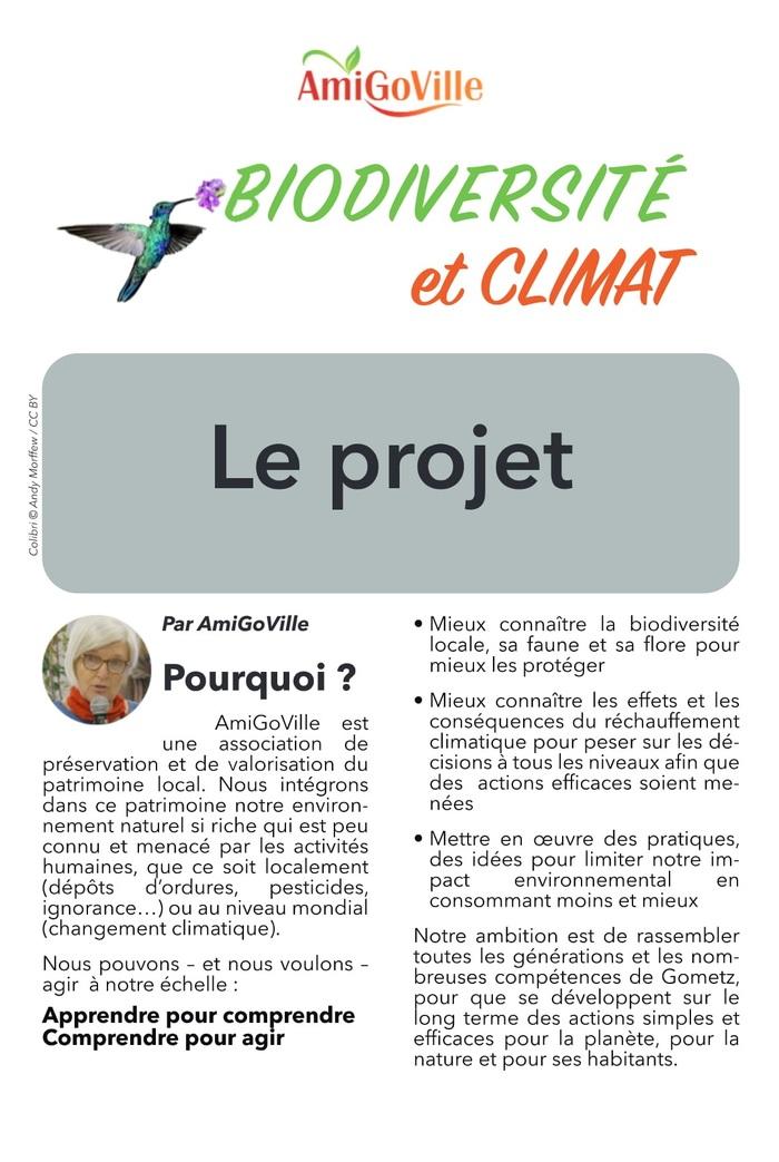 Journée Biodiversité et Climat par l'association AmiGoVille