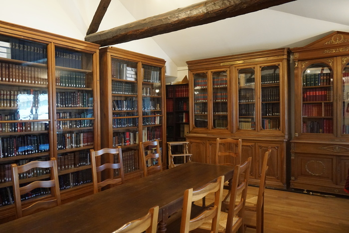 Journées du patrimoine 2019 - Présentation de la bibliothèque des Amis du Musée