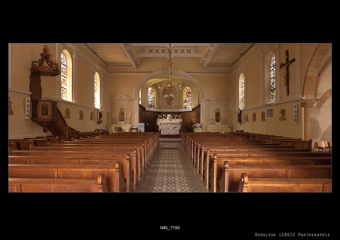 Journées du patrimoine 2019 - Visite libre de l'Eglise Sainte-Lucie de Vallières