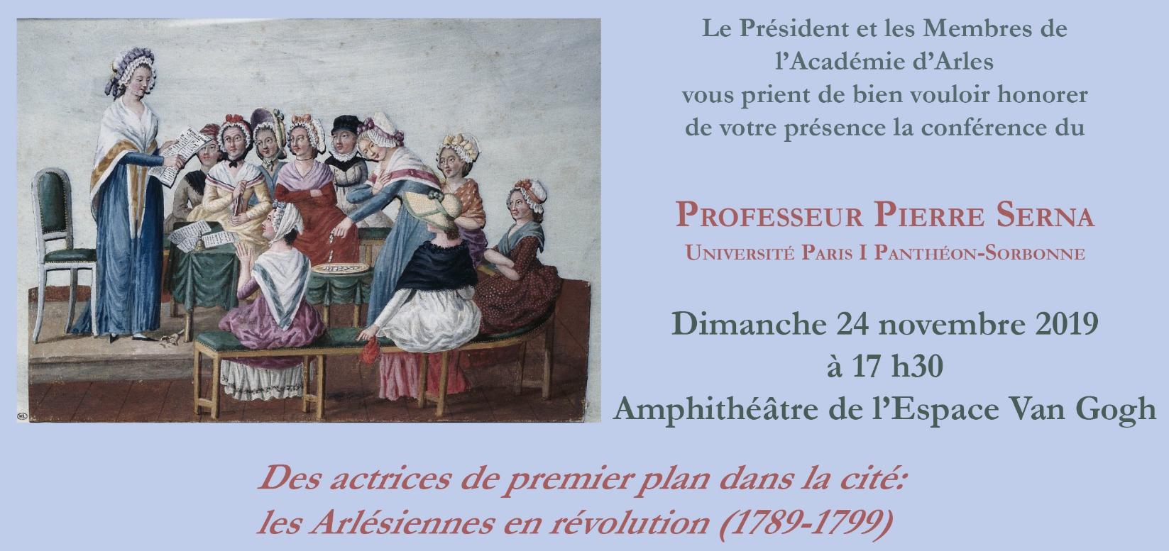 Des actrices de premier plan dans la cité : les Arlésiennes en Révolution (1789-1799)