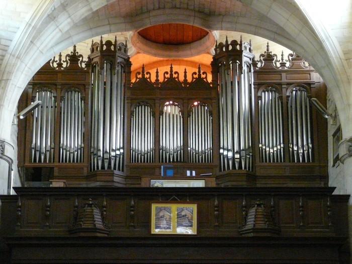 Journées du patrimoine 2020 - Concert d'orgue et visite de l'église Saint-Didier